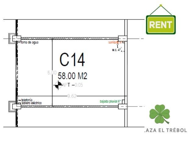 C 14 PB Plaza El Trébol